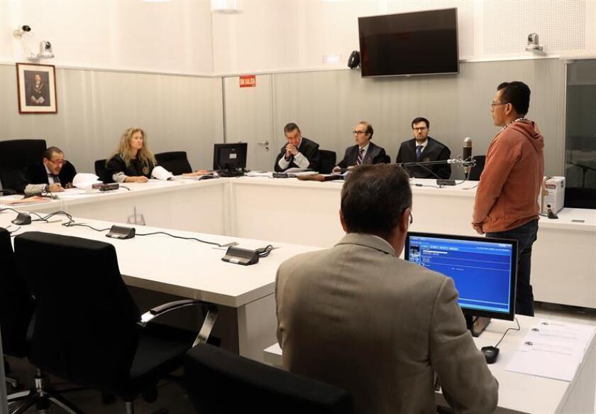 España deportó hoy a México a Javier Nava Soria, señalado como presunto cómplice del exgobernador de Veracruz Javier Duarte, actualmente preso por cargos de corrupción, informaron la Procuraduría General de la República (PGR, fiscalía) y medios locales. EFE/ARCHIVO/POOL