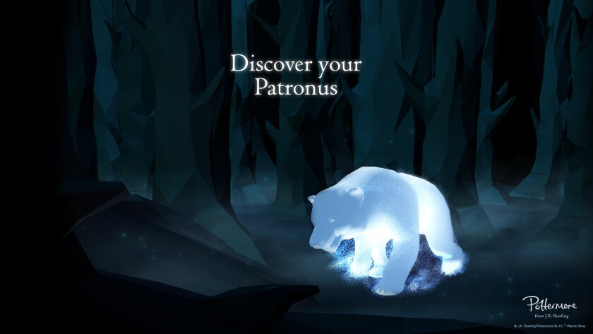 Whats Your Patronus The Harry Potter Website Pottermore