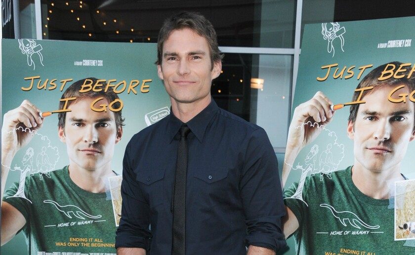 """Actor Seann William Scott arrives at the L.A. Screening of """"Just Before I Go."""""""