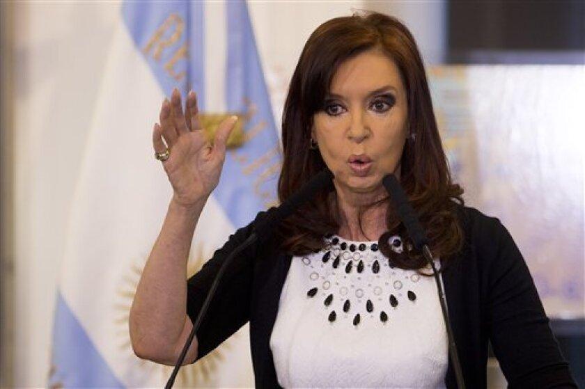 Cristina Fernandez.