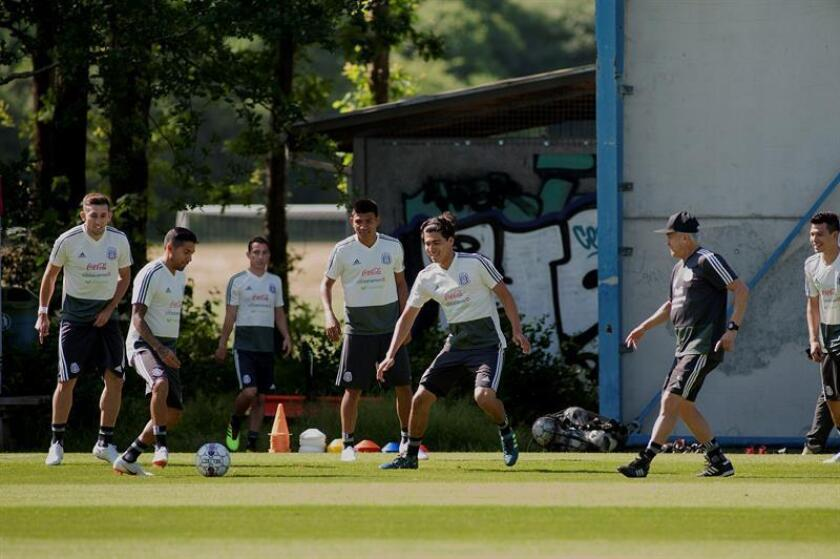 En la imagen, los jugadores de la selección de México. EFE/Archivo