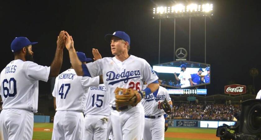 Gran victoria de los Dodgers...