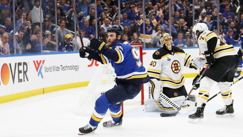 Blues tie series, win 4-2