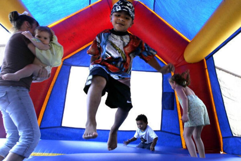 Bounce house injuries rocket; child hurt every 46 minutes