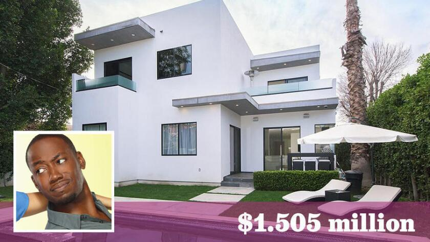 """""""New Girl"""" star Lamorne Morris has sold his contemporary-style home in Sherman Oaks for about $1.5 million."""