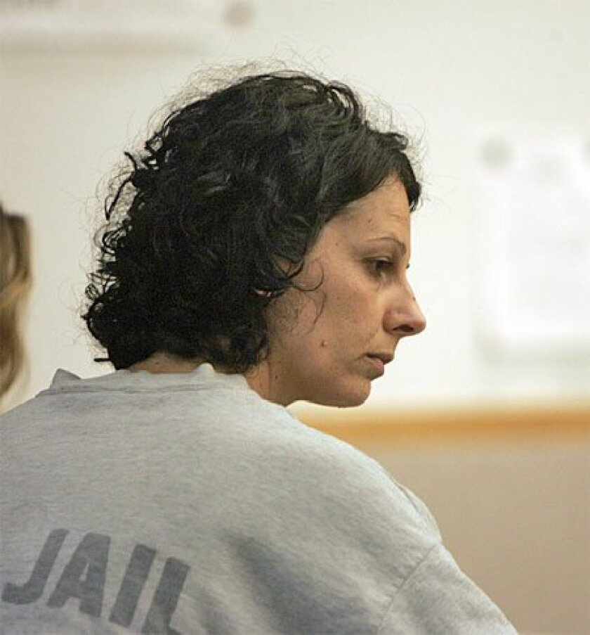 Jacqueline Mastrodimos, 38, was ordered yesterday to stand trial on 58 felony  charges. (Crissy Pascual / Union-Tribune)