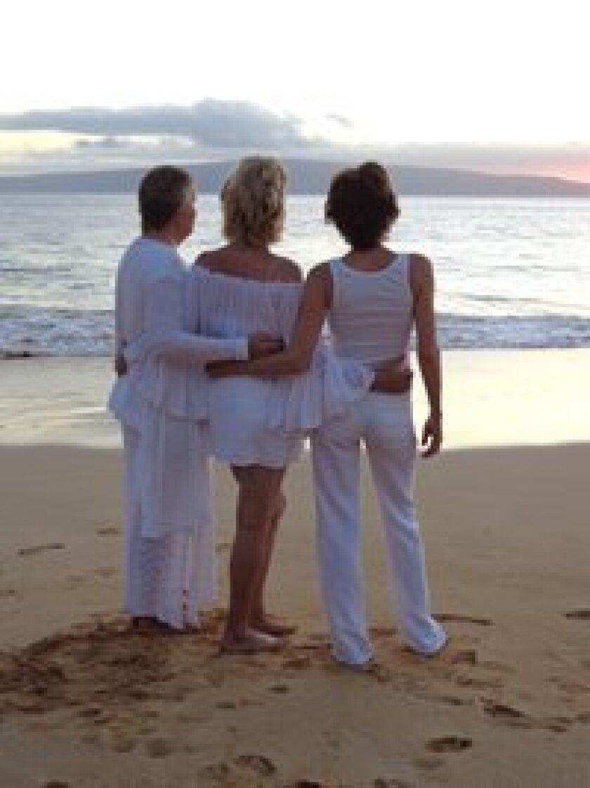 Kathleen, Angel and Brenda O'Brien.
