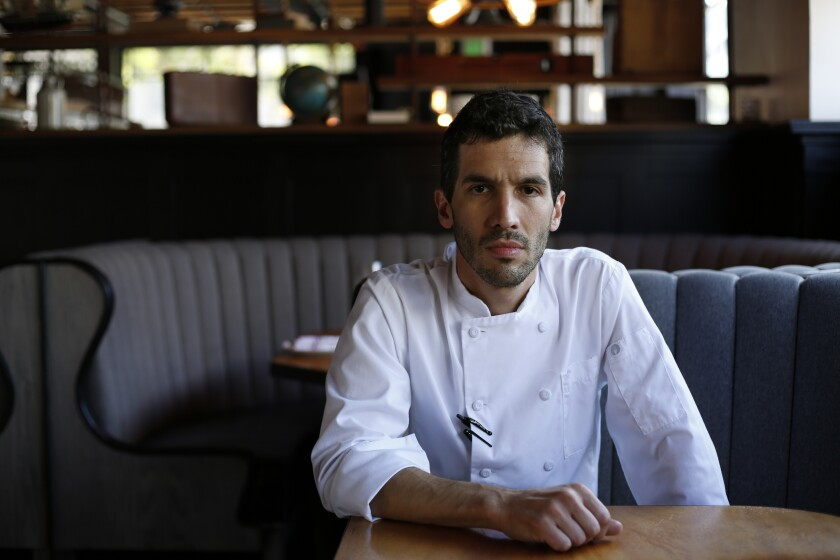 Brian Redzikowski, executive chef of Kettner Exchange.