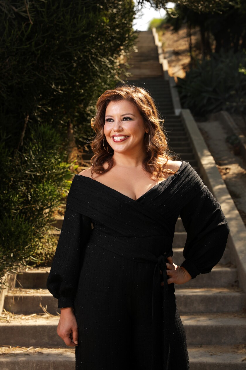 Actress Justina Machado is having a double prime-time moment on broadcast TV.