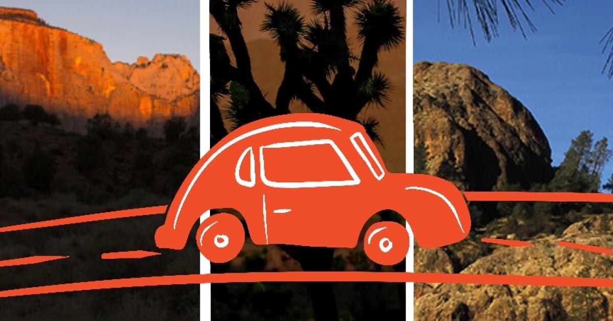 Creative ways to experience three national parks