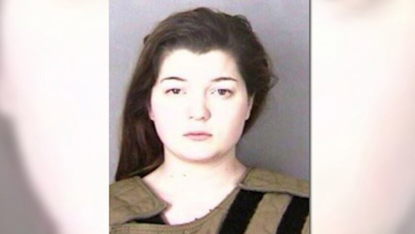 Haley Fox, of Turner, Oregon, was charged with first-degree assault. (Handout)
