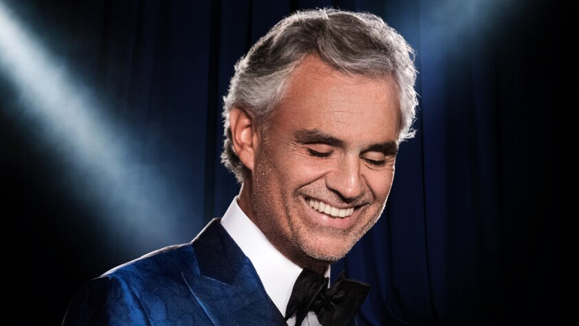 Andrea Bocelli will give a solo performance in Milan, Italy's Duomo cathedral Sunday.