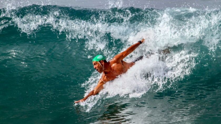 Hundreds of competitors from around the world will gather for the World Body Surfing Championships Saturday and Sunday at the Oceanside Pier.