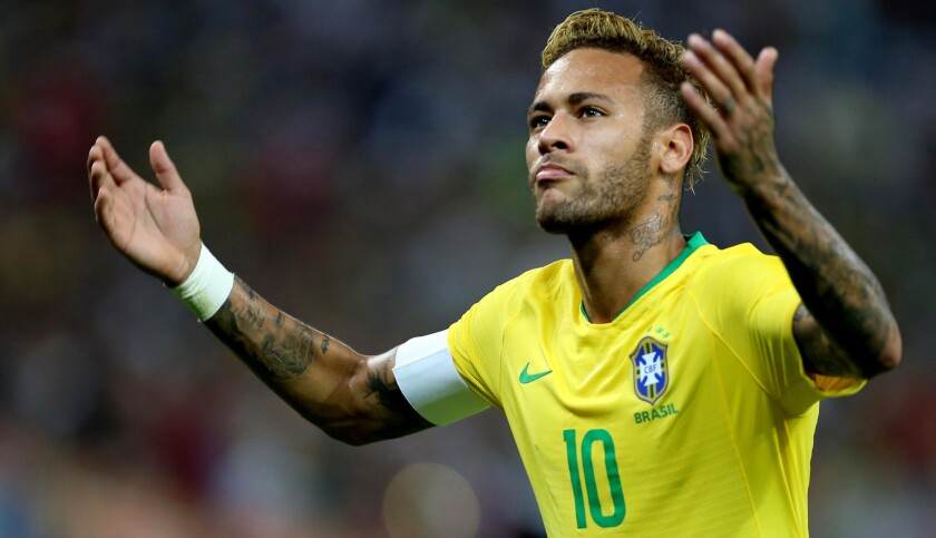Neymar and the Brazil national team will be in action on Friday against Uruguay.