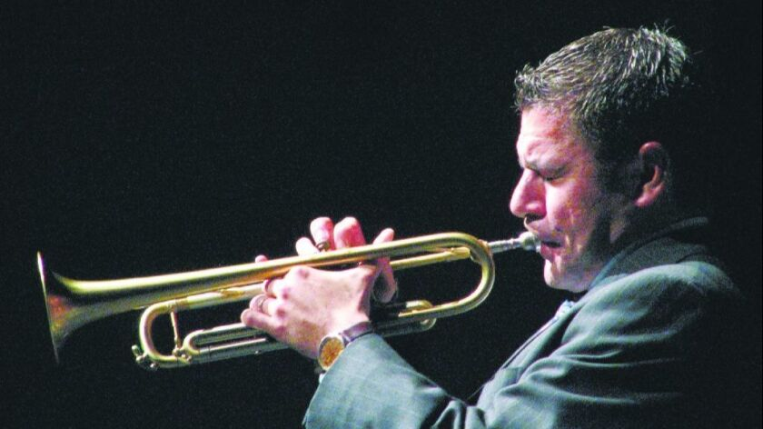 Top San Diego trumpeter Gilbert Castellanos will lead the Aug. 10 Latin Jazz Masters concert.