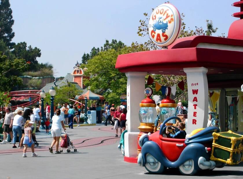 Disneyland's Toontown evacuated after explosion
