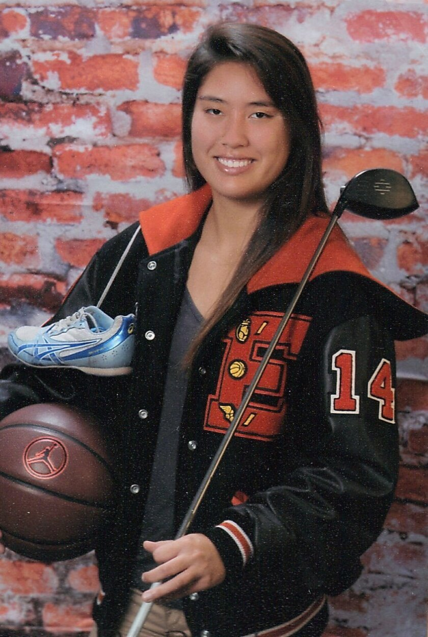 Kaylee Wicka, 17, was a varsity athlete in basketball, golf and track and field at Escondido High School. CREDIT: Kaylee Wicka