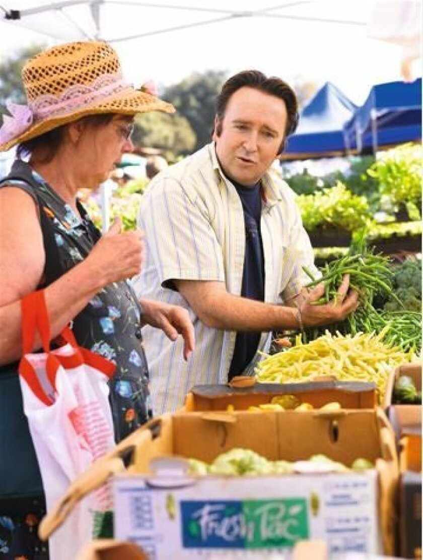 """Chef Bernard Guillas delivers the """"Farmers Market Report"""" Thursdays on San Diego 6."""
