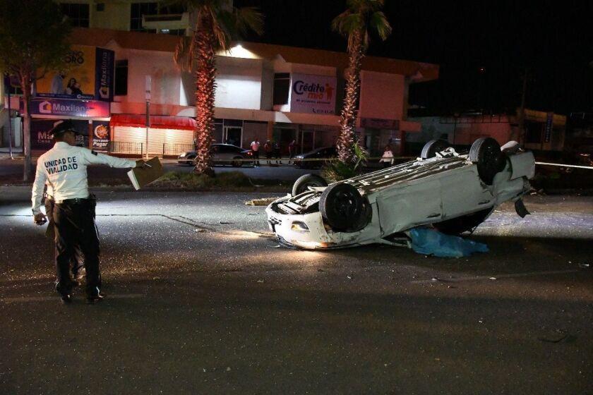 El accidente ocurrió en Culiacán