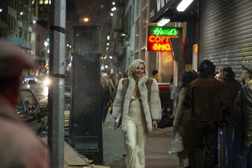 "Maggie Gyllenhaal in ""The Deuce."""