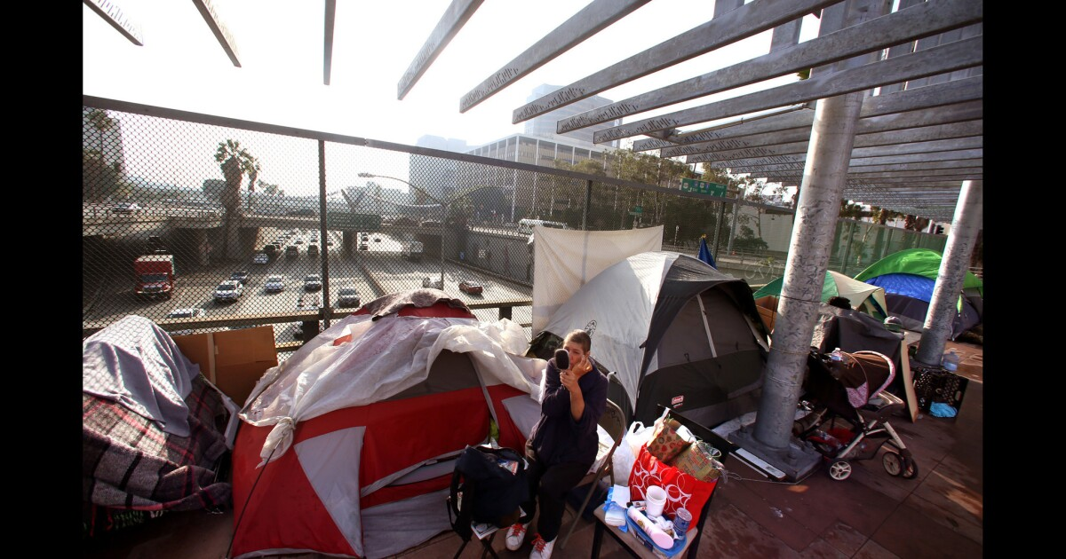 L.A. City Council set to consider new ban on homeless camping