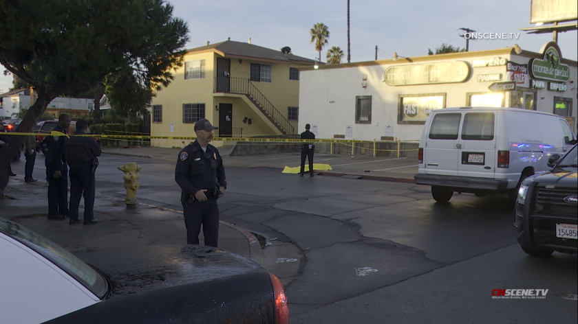 Police detained a 28-year-old man in connection with the fatal shooting of a 29-year-old woman in City Heights early Thursday. Police said the couple lived in the area and had two children together.