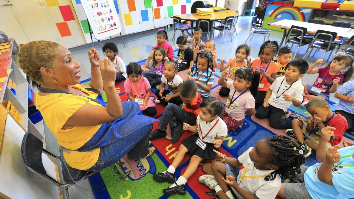 Q&A: Understanding L A  Unified's new pre-kindergarten programs