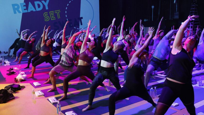 More than 40 classes over two days will offer a range of fitness experiences.