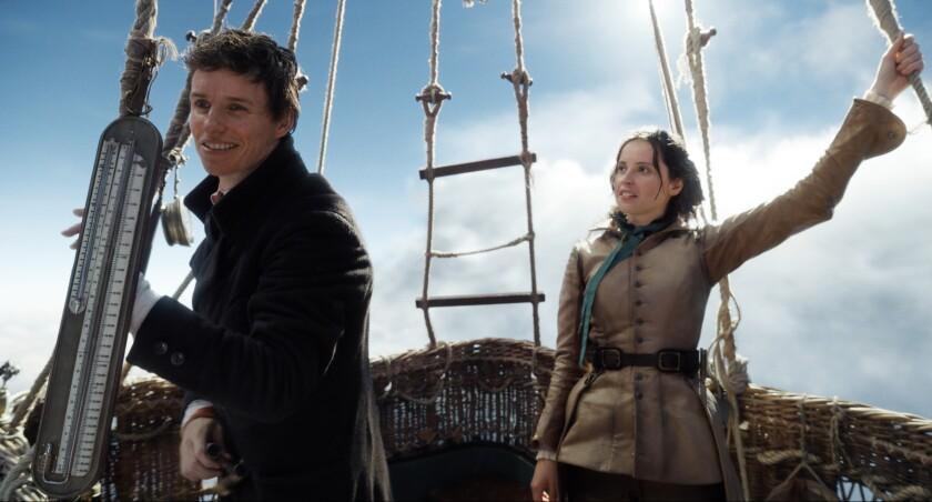 """Eddie Redmayne and Felicity Jones in """"The Aeronauts"""""""