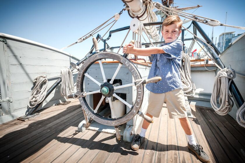Kids Free October offers discounts and freebies for kids age 12 and younger, including visits to the Maritime Museum.
