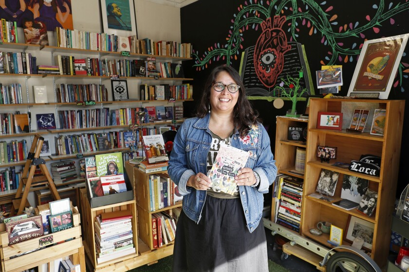 Commentary: LibroMobile may be O.C.'s smallest bookstore but it's also a symbol of growing diversity