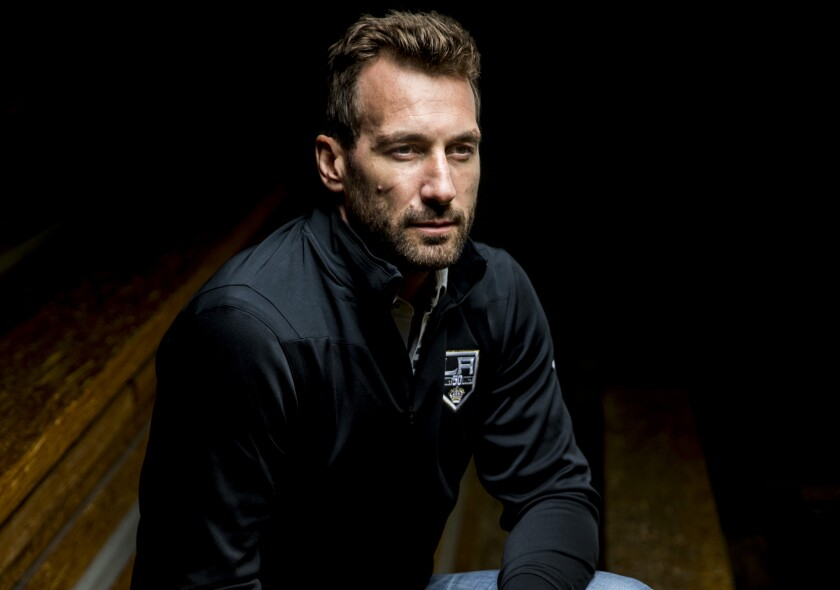 Jarret Stoll is no longer playing for the Kings, but he still has a very active role with the team as a player development coach.
