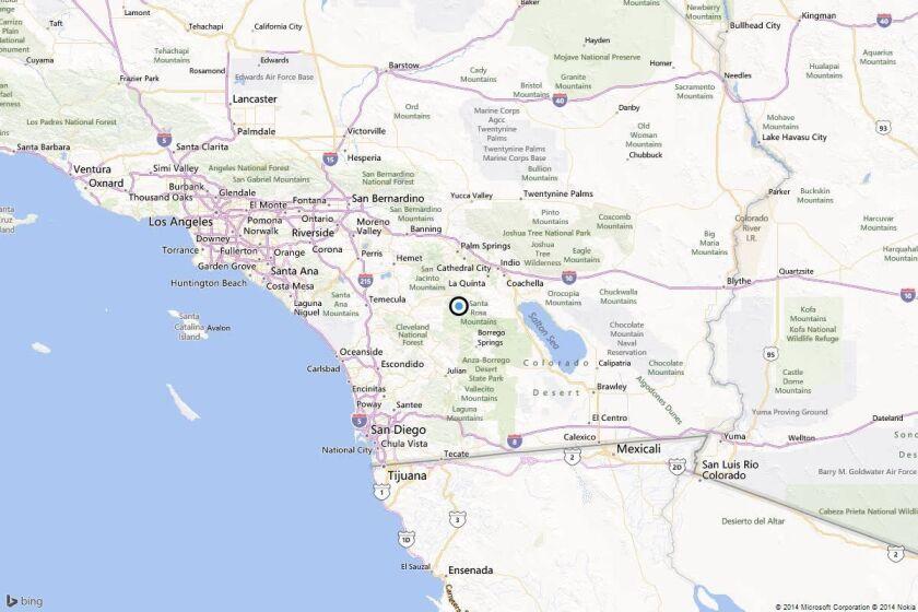Earthquake: 3.3 quake strikes