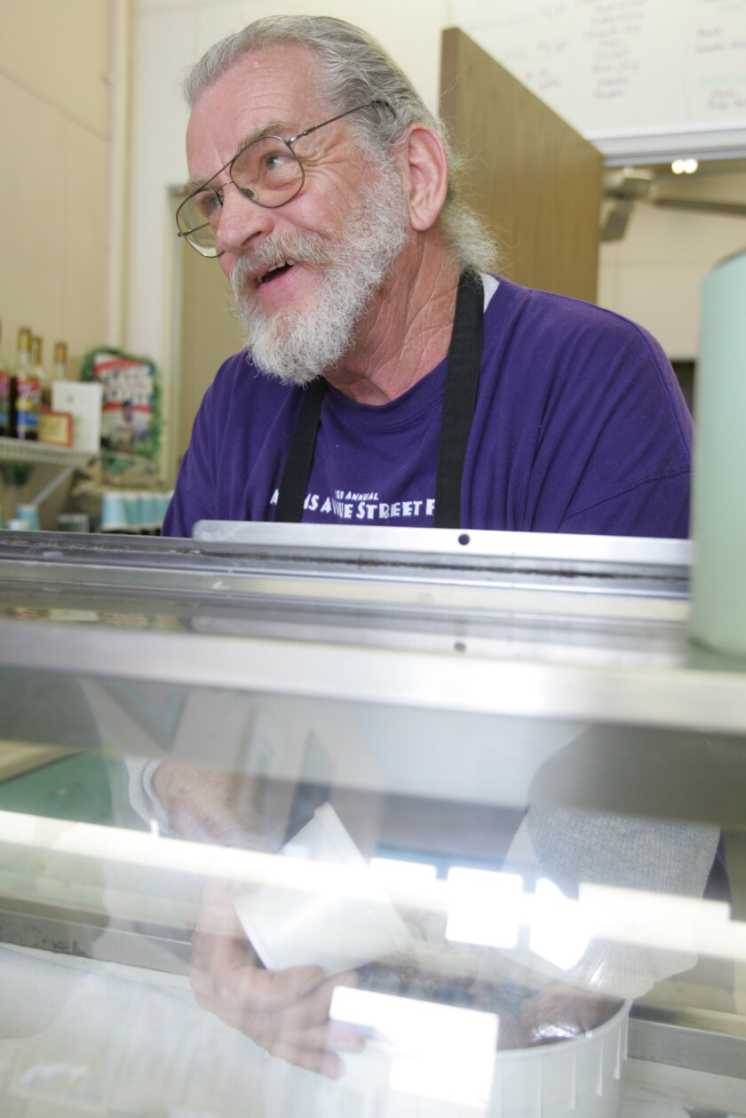 Dick Van Ransom-Magaña, who grew up making ice cream on a dairy farm in upstate New York, came to San Diego through the Navy.