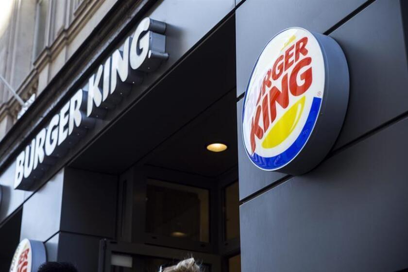 """Vista exterior del restaurante de comida rápida """"Burger King"""". EFE/Archivo"""