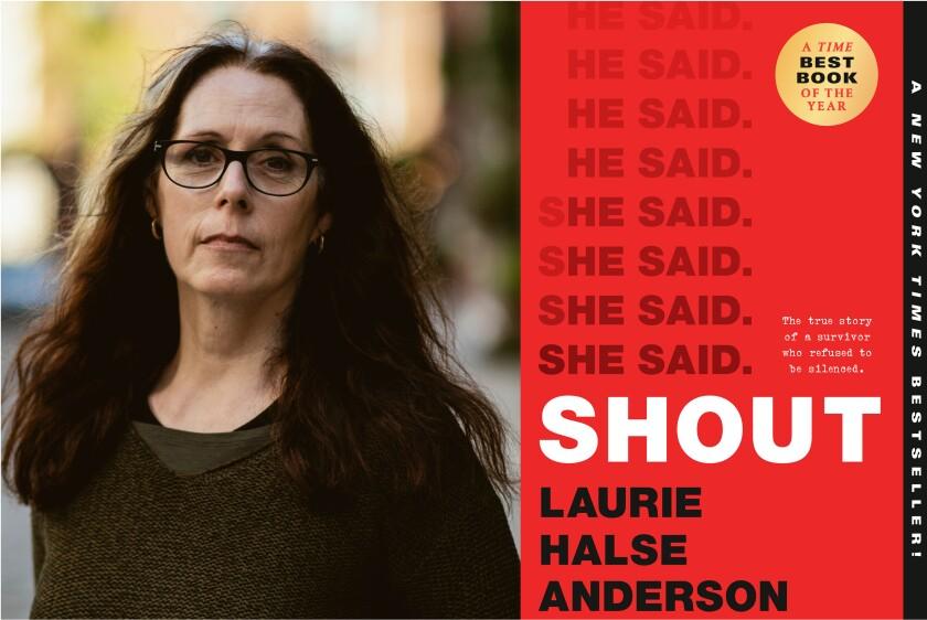 Author Laurie Halse Anderson