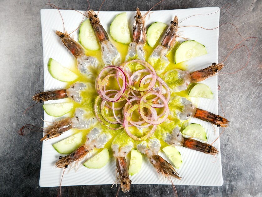 Coni'Seafood aguachile