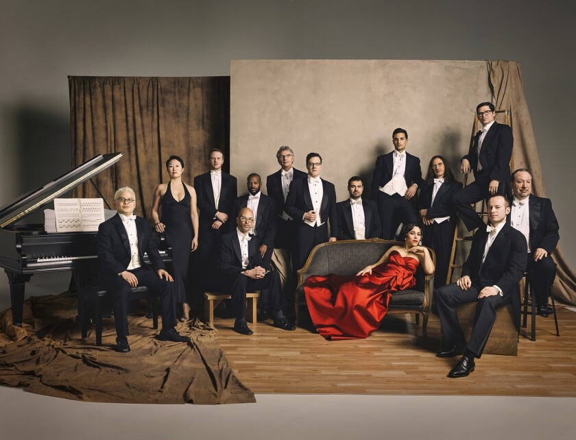 Pink Martini is playing at the Hollywood Bowl throughout the weekend.