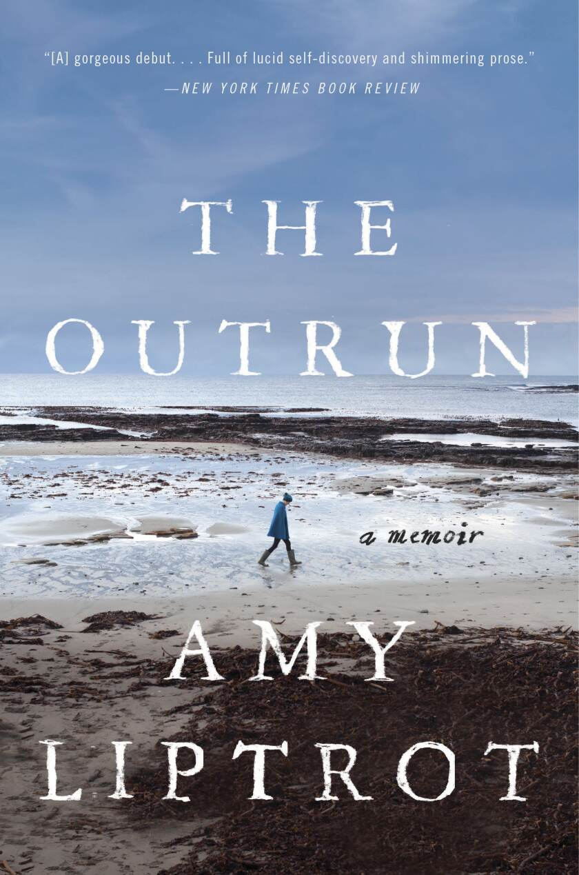 The Outrun by Amy Liptrot cover