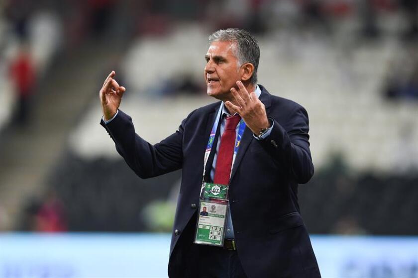 En la imagen, el entrenador portugués Carlos Queiroz. EFE/Archivo