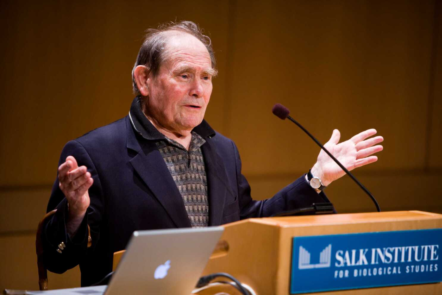IMG SYDNEY BRENNER, South African Biologist and a 2002 Nobel Prize Laureate