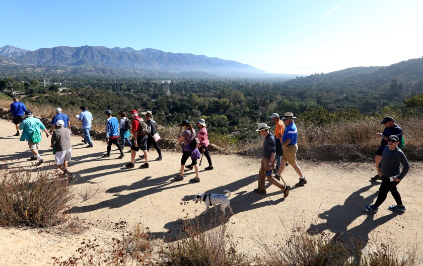 An immediate closure of La Cañada's 23-mile trail system followed an announcement Monday by Los Angeles County Supervisor Kathryn Barger after increased use of regional trails and parks was observed this weekend.