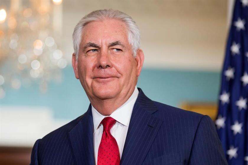 El secretario de Estado de EEUU, Rex Tillerson. EFE/ARCHIVO