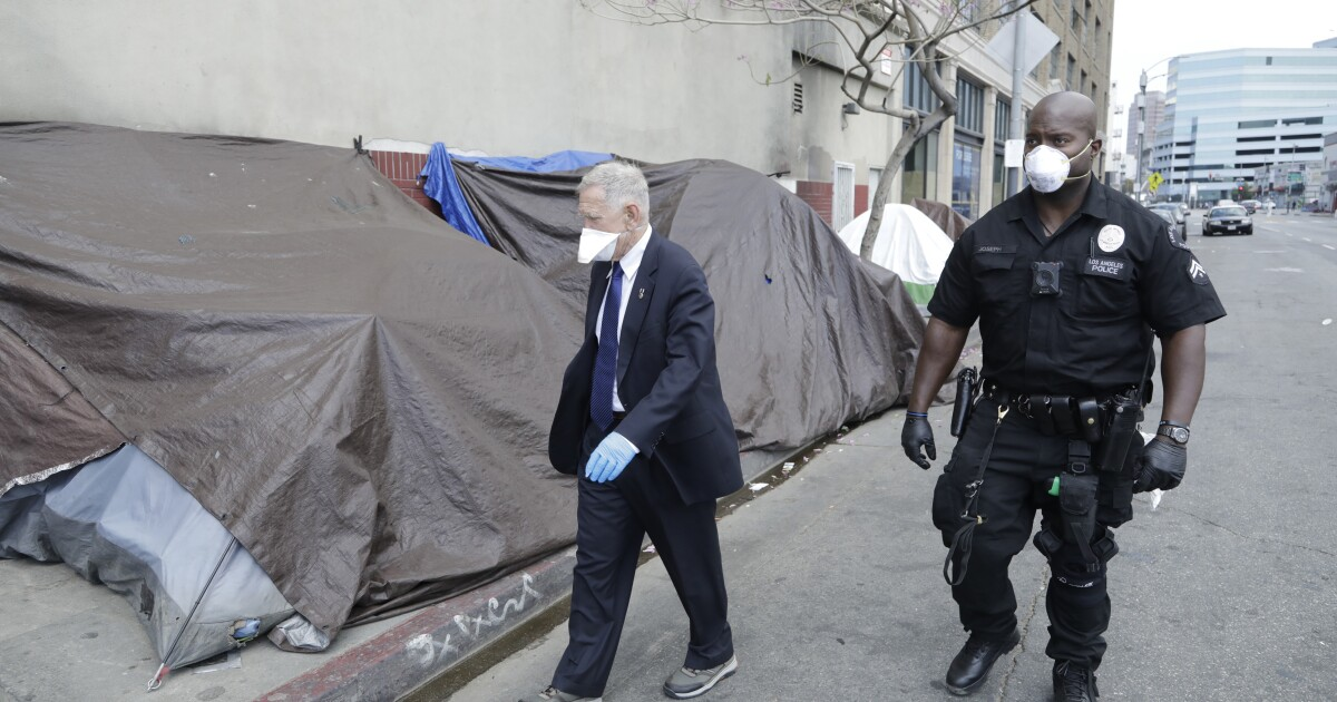Judge orders L.A. city and county to provide shelter for everyone on skid row by fall