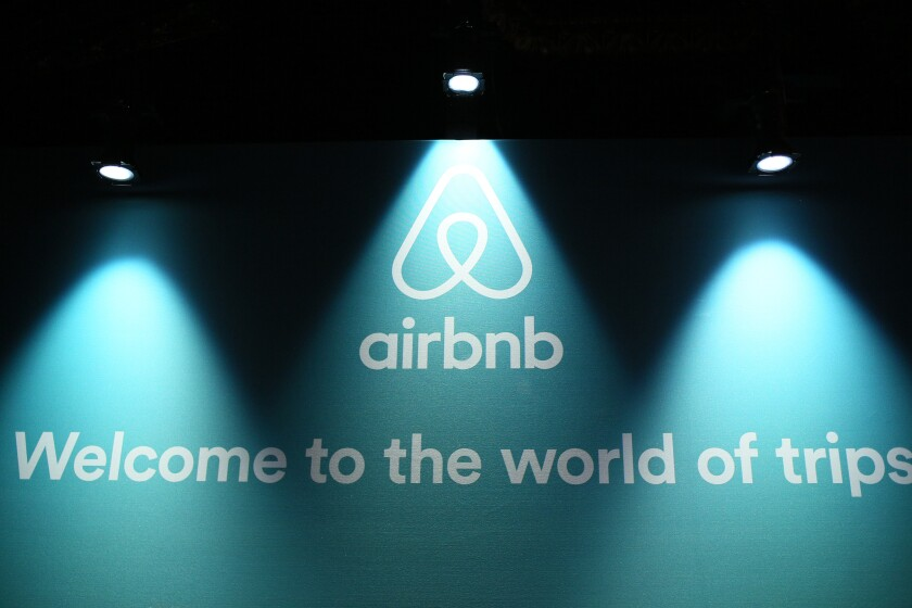 A general view of the atmosphere during Airbnb Open LA - Day 1 on November 17, 2016.
