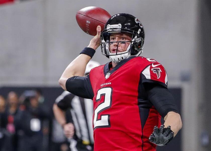El mariscal de campo de los Falcons de Atlanta, Matt Ryan. EFE/Archivo