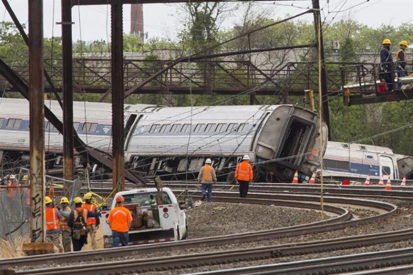 Un choque entre un tren de pasajeros y uno de carga dejó esta madrugada al menos dos muertos y 70 heridos en Carolina del Sur, informaron hoy las autoridades locales. EFE/Archivo