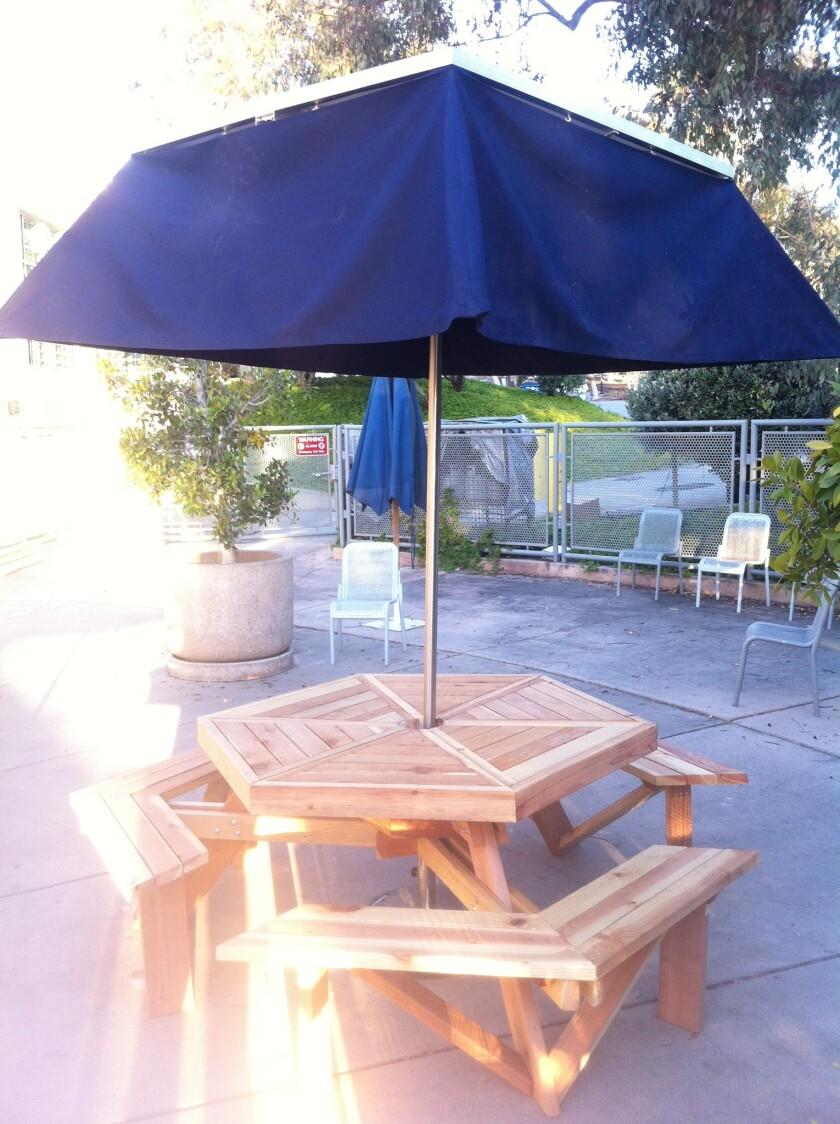 A prototype for the solar umbrella