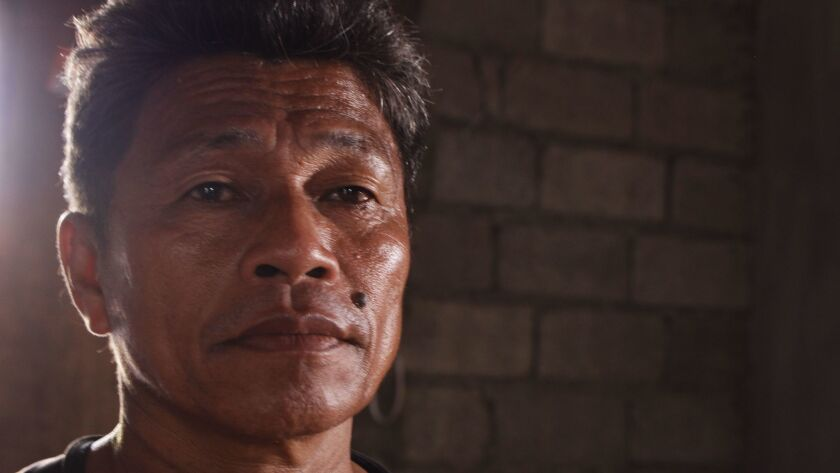 Efren Forones has been a fisherman all his life. At sea, he found adventure, food and a good income.