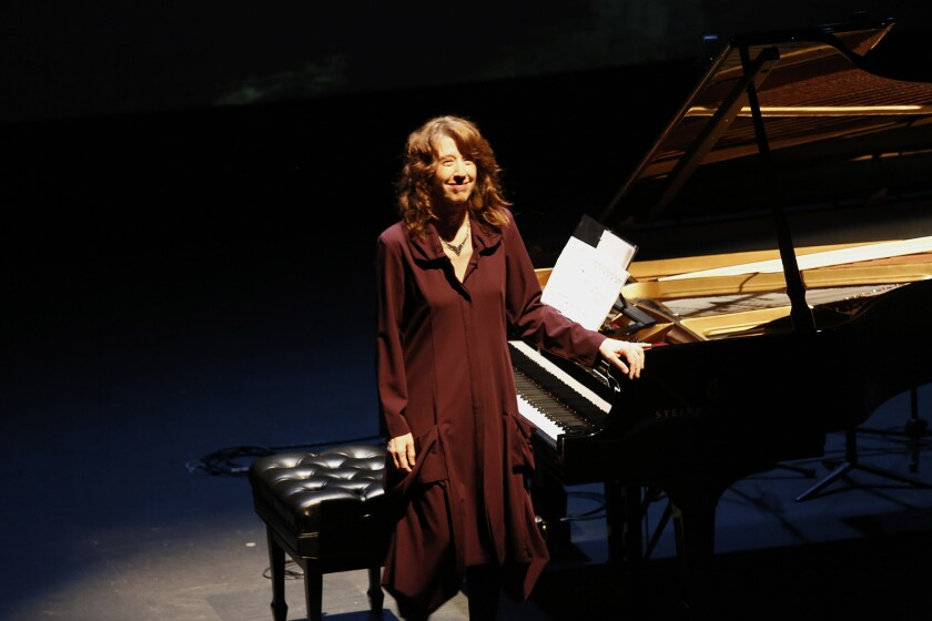 LOS ANGELES, CA-FEBRUARY 23, 2016: Vicki Rayís Piano Spheres recital is the latest plunge into musi